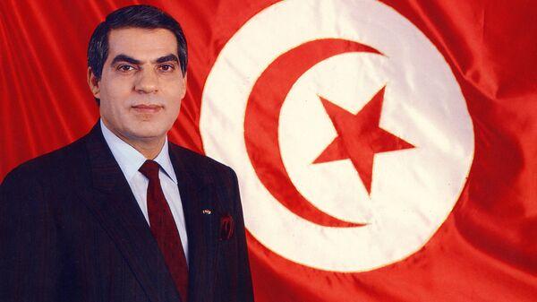 Президент Туниса Зин аль-Абидин Бен Али. 1988 год
