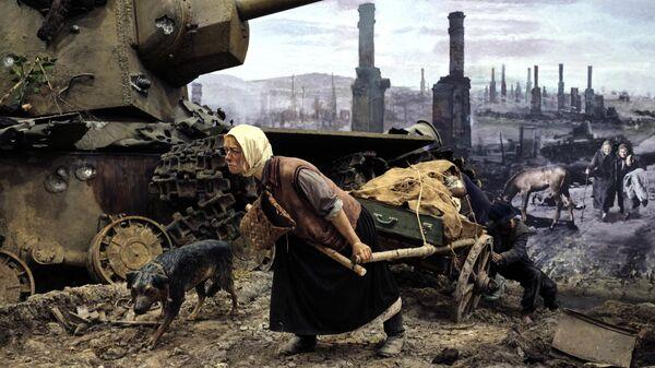 Трехмерная панорама Память говорит. Дорога через войну в Санкт-Петербурге