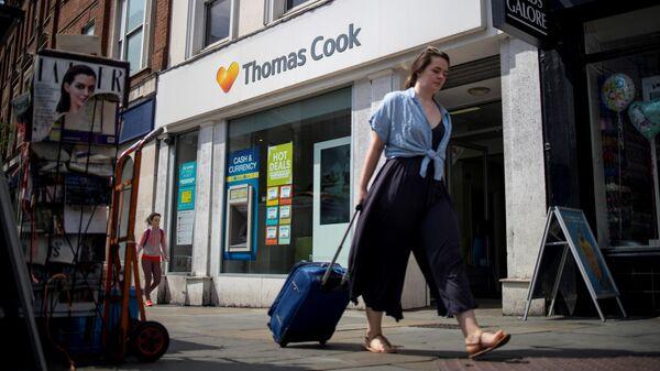 Офис туристической компании Thomas Cook в Лондоне