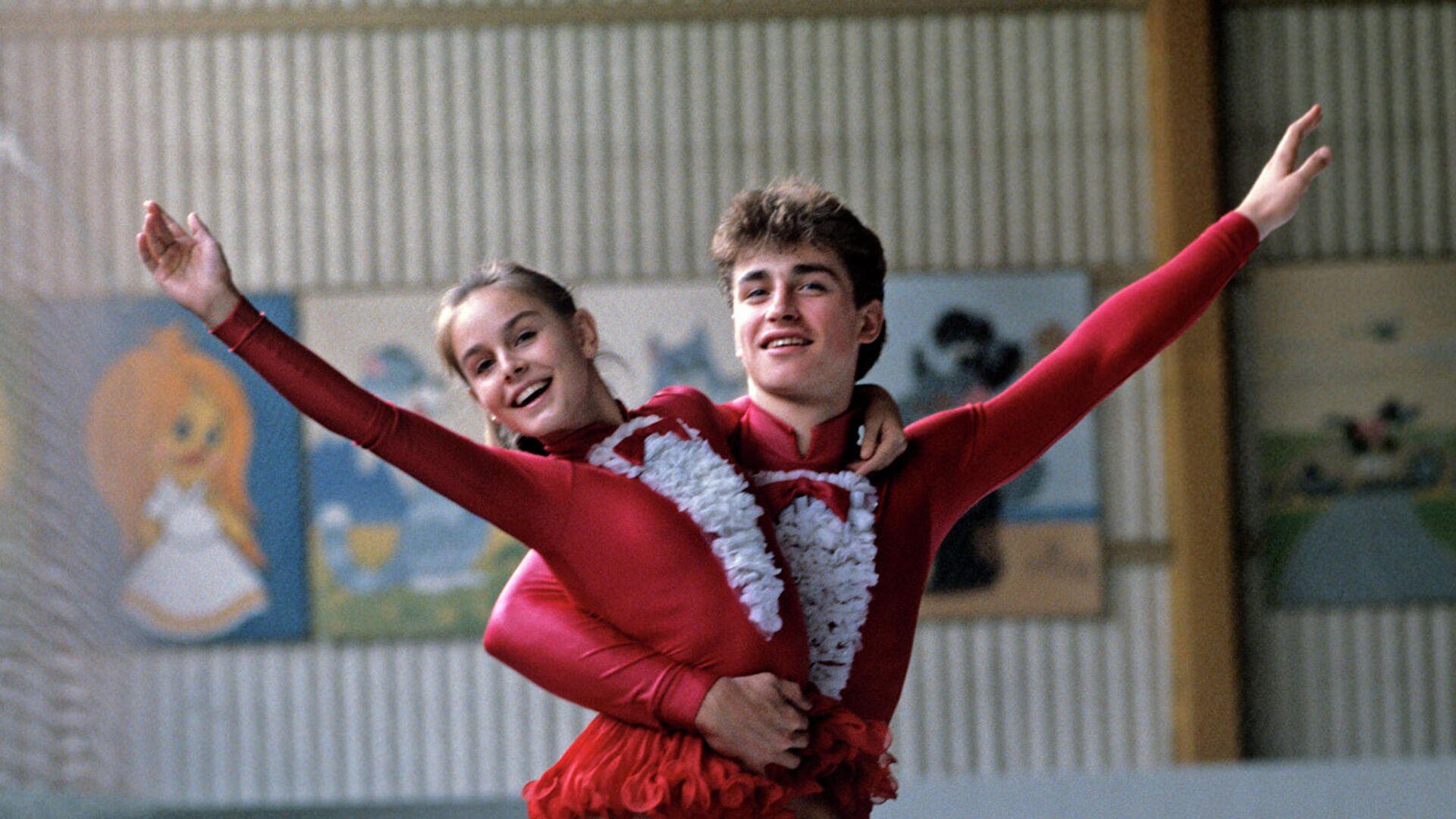 Екатерина Гордеева и Сергей Гриньков - РИА Новости, 1920, 20.11.2020