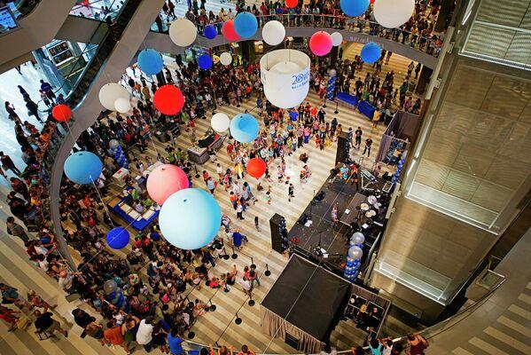 Торговый центр Mall of America в городе Блумингтон штата Миннесота