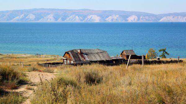 Дом в Прибайкальском национальном парке на побережье Байкала в Иркутской области
