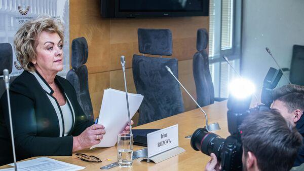 Депутат сейма Литвы Ирина Розова