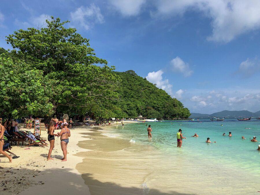 Остров Ко Хе Банан Бич