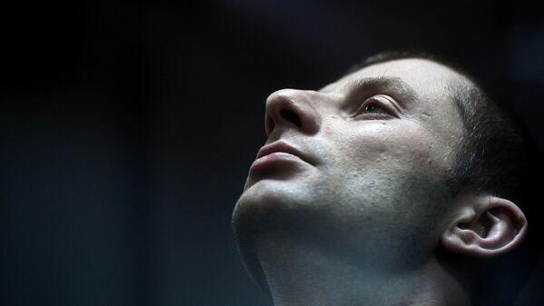 Денис Чуприков во время оглашения приговора в Замоскворецком суде Москвы. 25 сентября 2019