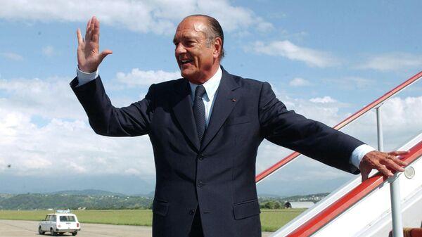 Президент Франции Жак Ширак