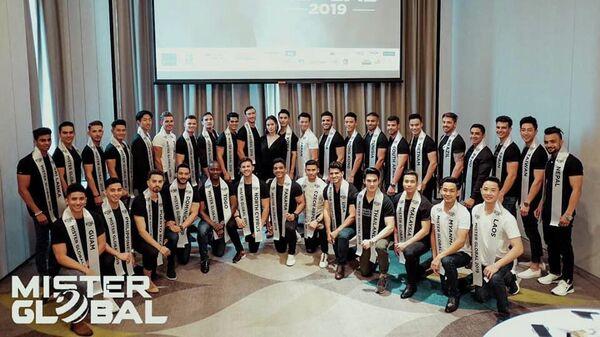 Участники конкурса Mister Global 2019