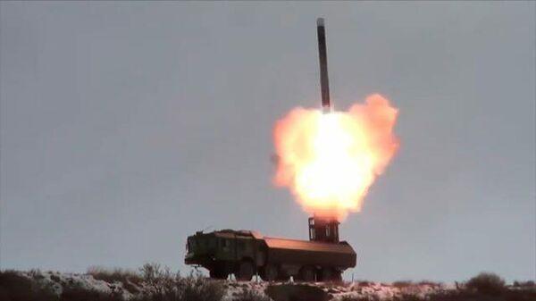 Кадры запуска крылатой ракеты Оникс с территории Чукотки