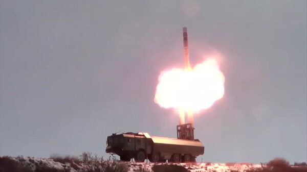 Пуск крылатой ракеты Оникс на Чукотке