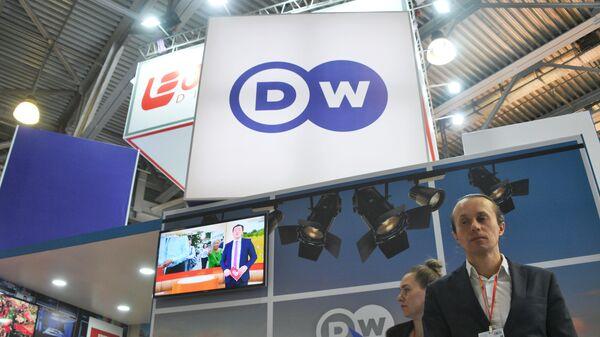 Стенд телеканала Deutsche Welle
