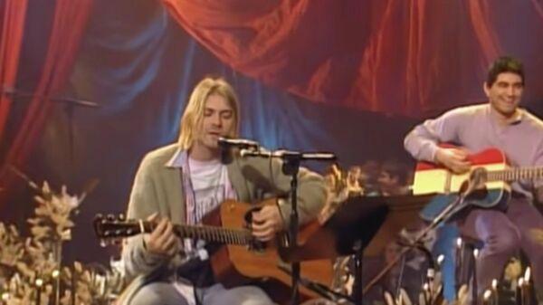 Nirvana на Unplugged In New York