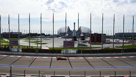 Автоспорт. Формула 1. ВТБ Гран-при России. Свободные заезды. Первая сессия