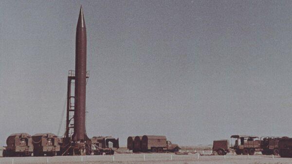 Ракетный комплекс Р-5М, принятый на вооружение 21 июня 1956 г. стал первым отечественным ракетным комплексом с ядерным боевым оснащением