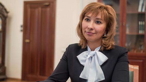 Министр труда, занятости и социальной защиты Республики Татарстан Эльмира Зарипова