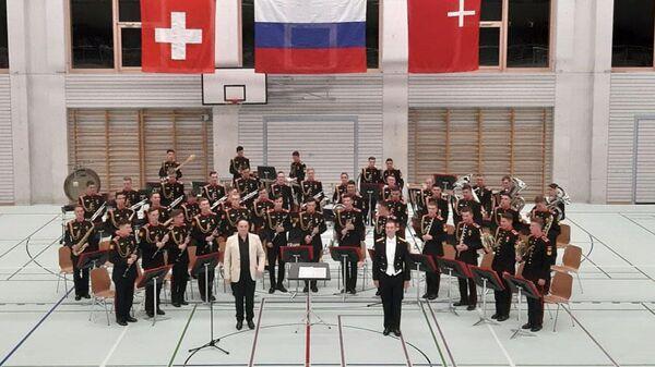 Суворовцы в Швейцарии