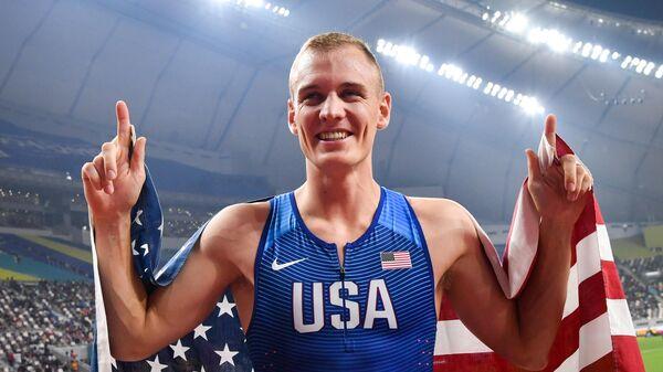 Американский прыгун с шестом Сэм Кендрикс