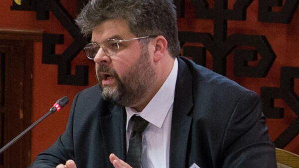 Народный депутат фракции Слуга народа, глава комитета по вопросам внешней политики и межпарламентского сотрудничества Богдан Яременко