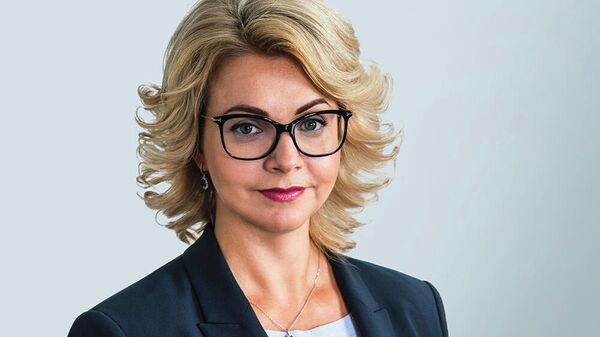 Председатель Правления Новикомбанка Елена Георгиева