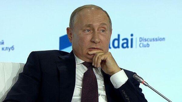 Путин назвал верхом цинизма утверждение о развязывании Сталиным войны