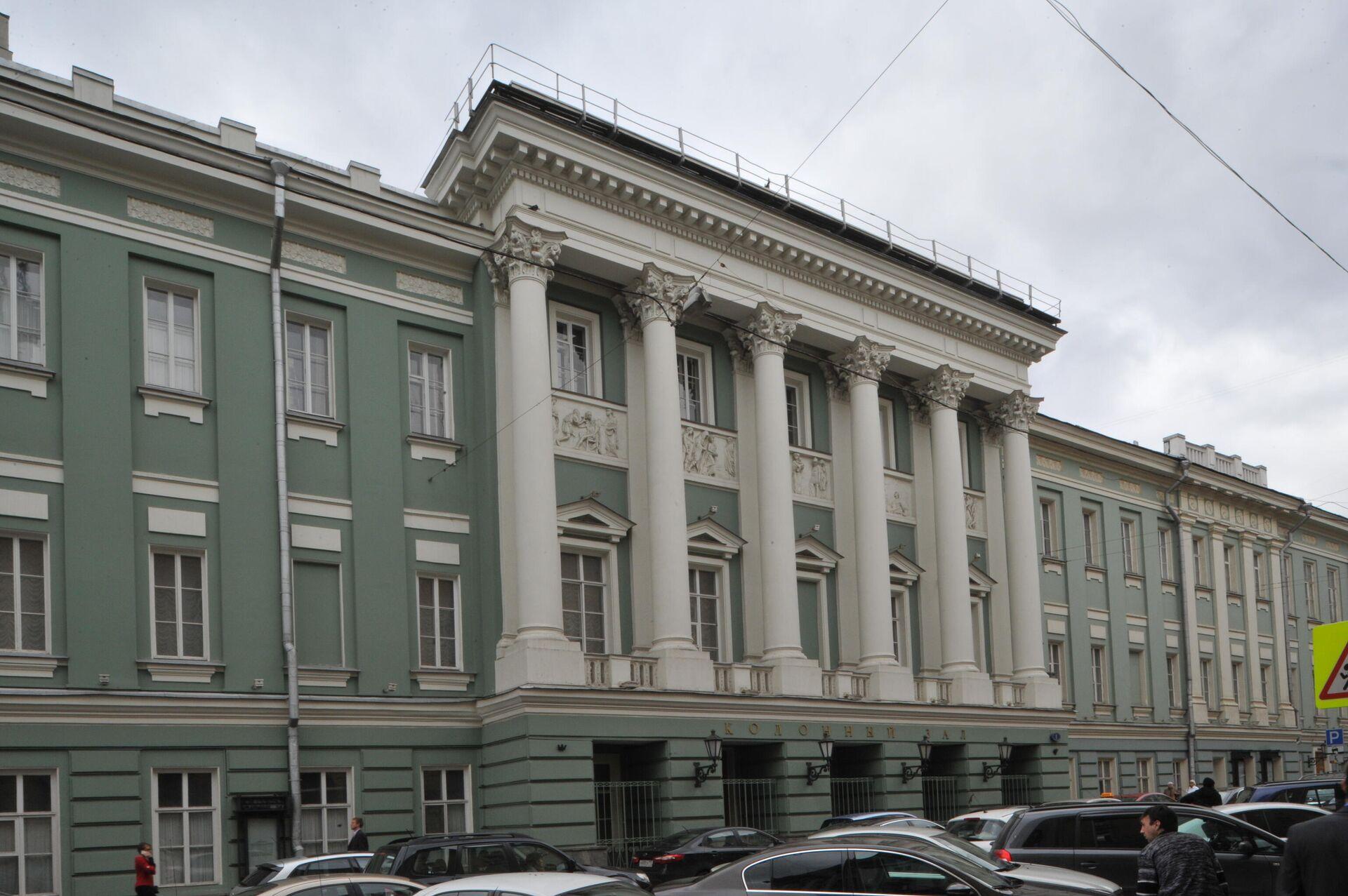 Дом Союзов на Большой Дмитровке, 1 - РИА Новости, 1920, 18.07.2021