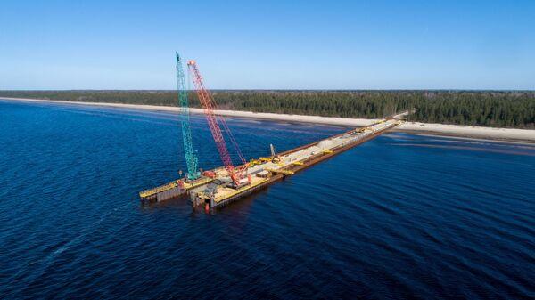 Строительство газопровода Северный поток — 2