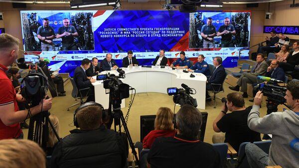 Космонавты МКС ответили на вопросы читателей РИА Новости