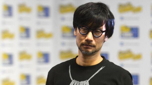 Основатель студии Kojima Productions Х. Кодзима на выставке Игромир-2019