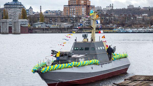 Бронекатер для ВМС Украины Гюрза-М
