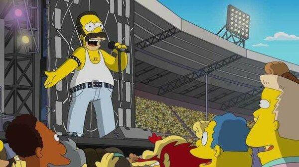 Кадр из мультсериала Симпсоны