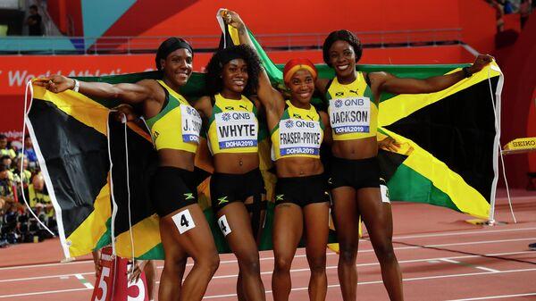 Бегуньи сборной Ямайки