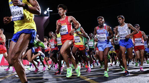 Марафон на чемпионате мира по легкой атлетике в Дохе