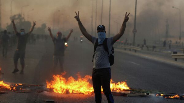 Акции протеста в Ираке