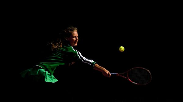 Теннисистка Елена Дементьева