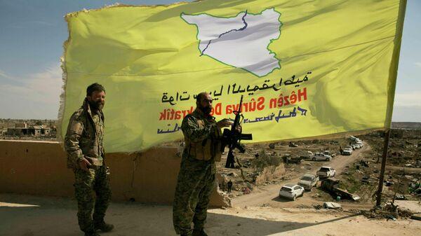 Бойцы Сирийских демократических сил (SDF)