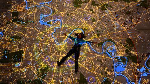 Открытие зала Интерактивной карты Москвы