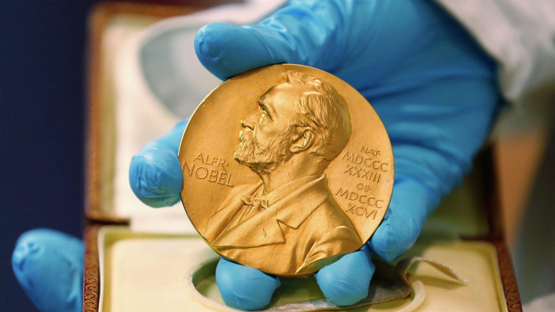Золотая медаль Нобелевской премии - РИА Новости, 1920, 12.10.2020