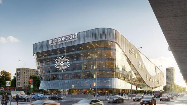 Проект модернизации Щелковского вокзала в Москве