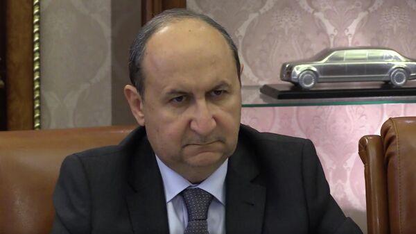 Египетский министр торговли и промышленности Амр Нассар