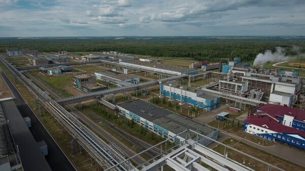 Предприятие ОАО Полиэф компании Сибур-ПЭТФ в г.Благовещенске (Республика Башкортостан) – производитель полиэтилентерефталата и терефталевой кислоты.