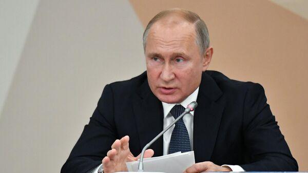 Путин предупредил страны оразработке новых ракет