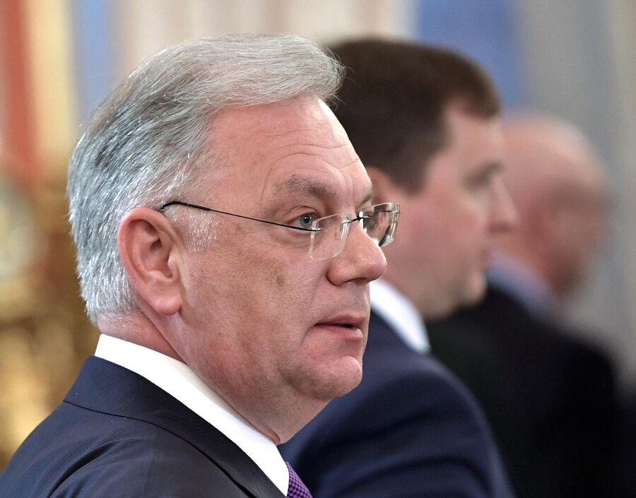 Директор Федеральной службы по военно-техническому сотрудничеству Дмитрий Шугаев