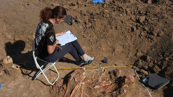 Древнее погребение, датируемое 3-м тысячелетием до н. э.