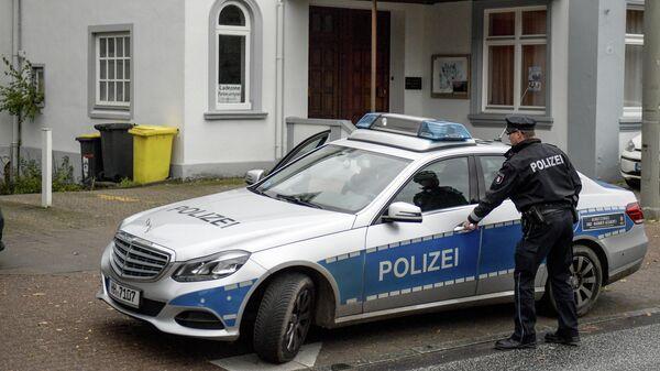 Сотрудник полиции в Гамбурге, Германия