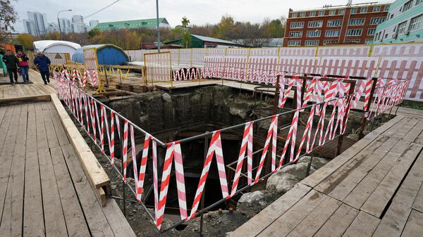 Реконструкция газопровода-дюкера Автозаводский в районе Нагатинской набережной