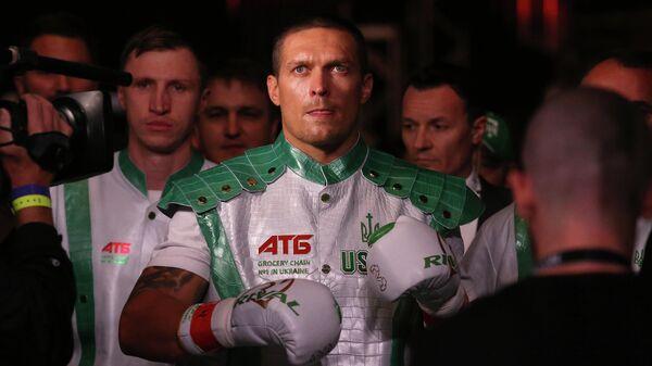 Боксер Александр Усик (Украина)