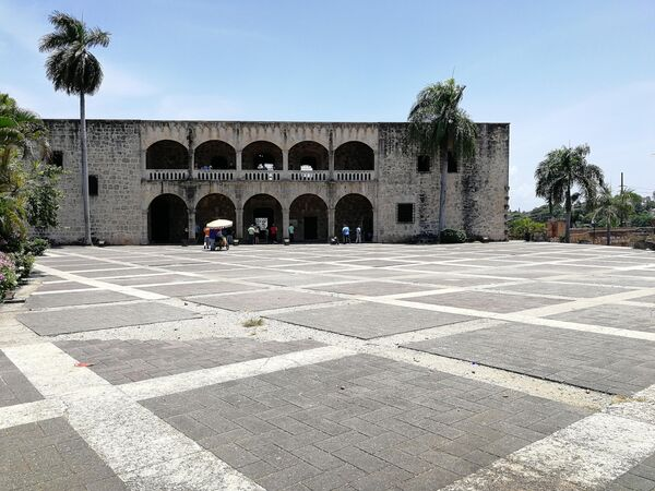 Санто-Доминго. Дворец Алькасар-де-Колон