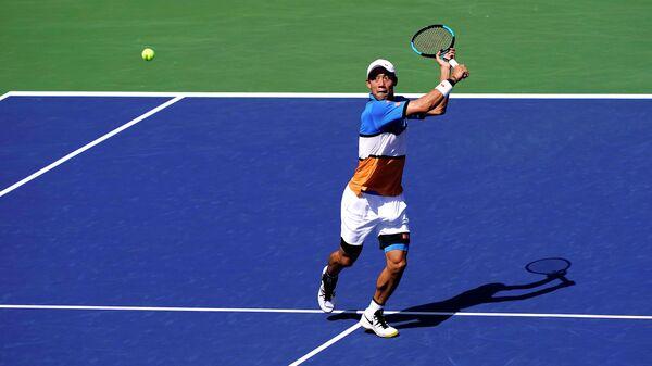 Теннисист Кей Нисикори (Япония)