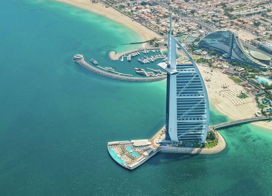 Отель Бурдж-эль-Араб в Дубае
