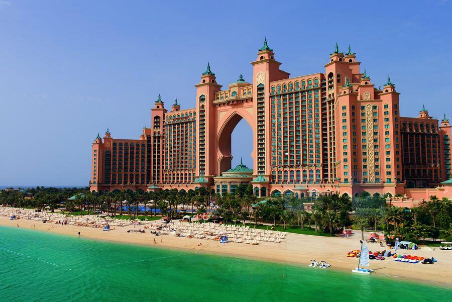 Курортный комплекс Atlantis The Palm в Дубае
