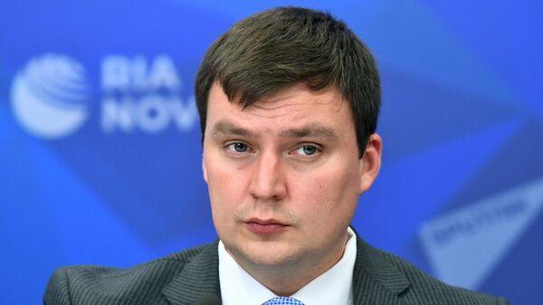 Председатель Совета молодых дипломатов МИД России Константин Колпаков